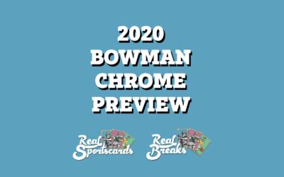 2020 Bowman Chrome Prospect Preview